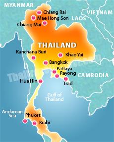 Thailand Weather Map.Thai Weather Somethingjam