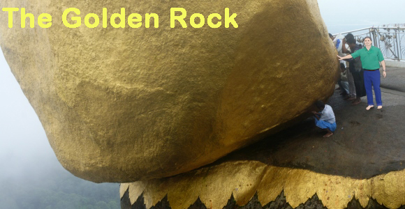 The Golden Rock, Myanmar